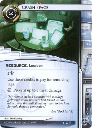 Android Netrunner Crash Space Image
