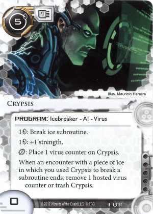 Android Netrunner Crypsis Image