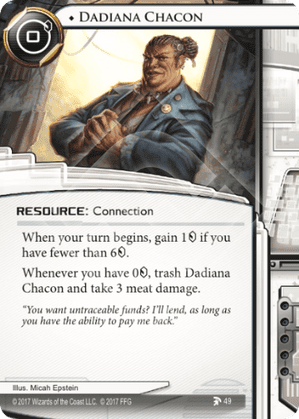 Android Netrunner Dadiana Chacon Image