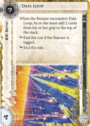 Android Netrunner Data Loop Image