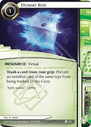 Android Netrunner Dummy Box Image