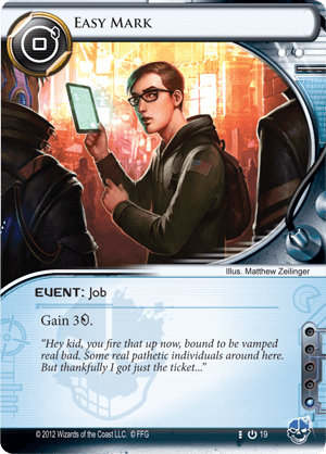 Android Netrunner Easy Mark Image