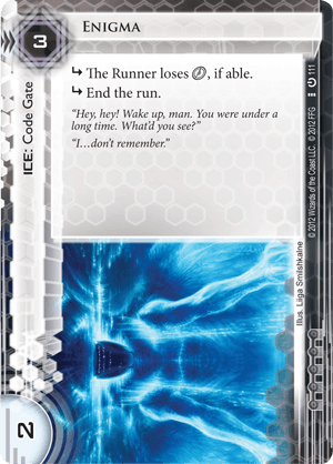 Android Netrunner Enigma Image