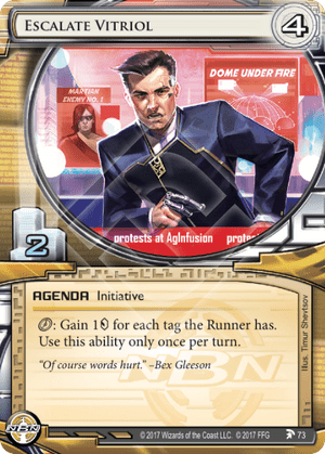 Android Netrunner Escalate Vitriol Image