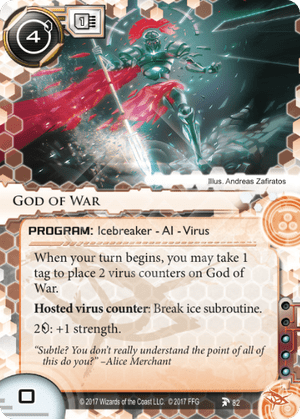 Android Netrunner God of War Image