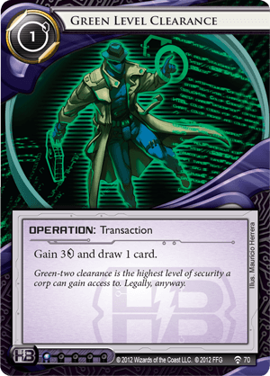 Android Netrunner Green Level Clearance Image