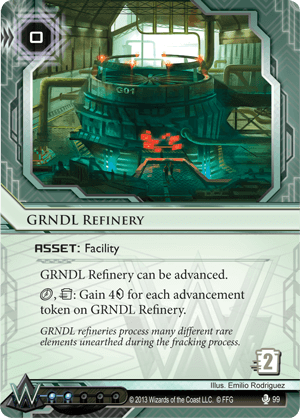 Android Netrunner GRNDL Refinery Image