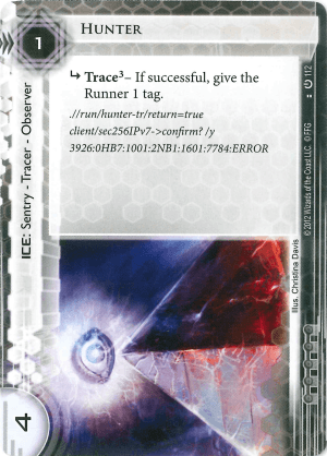 Android Netrunner Hunter Image