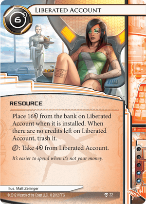 Android Netrunner Liberated Account Image