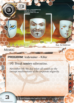 Android Netrunner Mimic Image