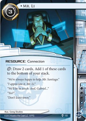 Android Netrunner Mr. Li Image