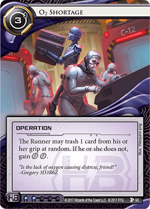 Android Netrunner O₂ Shortage Image