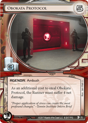 Android Netrunner Obokata Protocol Image