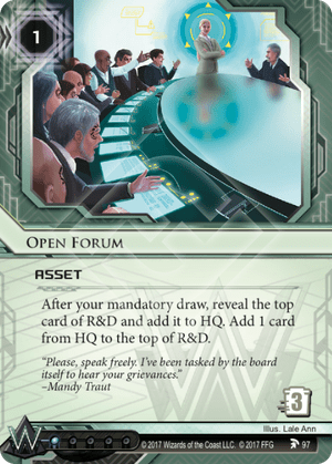 Android Netrunner Open Forum Image