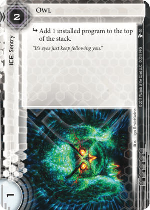 Android Netrunner Owl Image