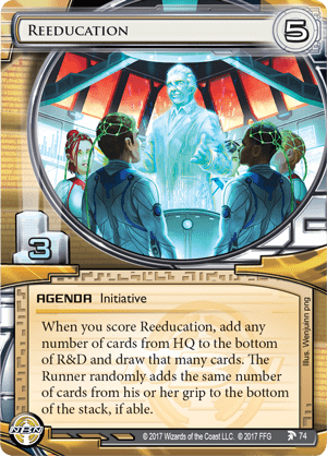 Android Netrunner Reeducation Image