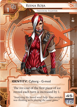 Android Netrunner Reina Roja: Freedom Fighter Image