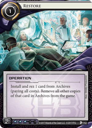 Android Netrunner Restore Image