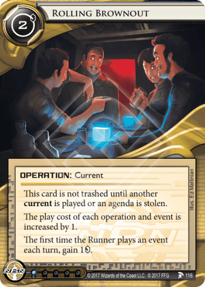 Android Netrunner Rolling Brownout Image