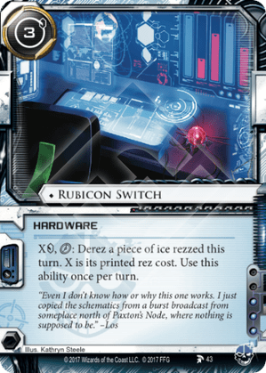 Android Netrunner Rubicon Switch Image