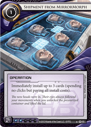 Android Netrunner Shipment from MirrorMorph Image