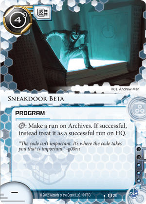 Android Netrunner Sneakdoor Beta Image