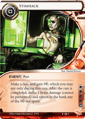 Android Netrunner Stimhack Image