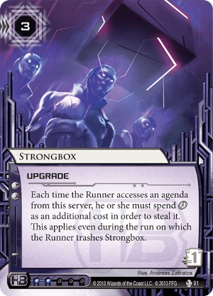 Android Netrunner Strongbox Image