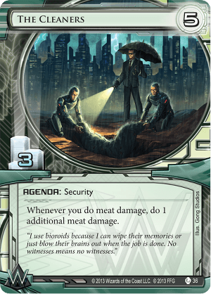 Android Netrunner The Cleaners Image
