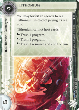 Android Netrunner Tithonium Image