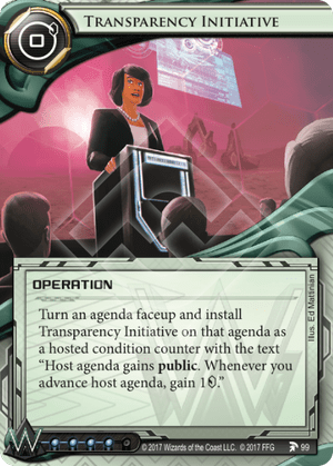 Android Netrunner Transparency Initiative Image
