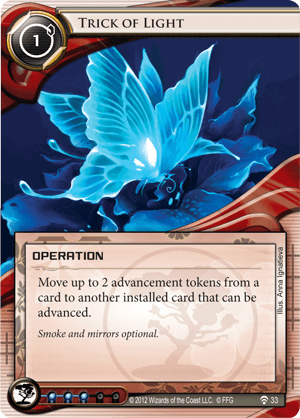 Android Netrunner Trick of Light Image