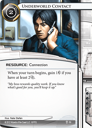 Android Netrunner Underworld Contact Image