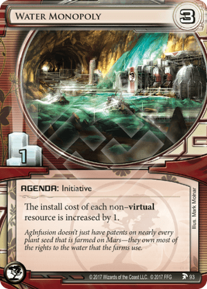 Android Netrunner Water Monopoly Image